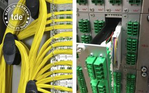 Modular central office solution – unique loose tube over length management system integrated in splice modules