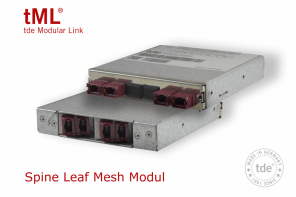 New tML FO Spine Leaf Mesh Module saves space, time and costs
